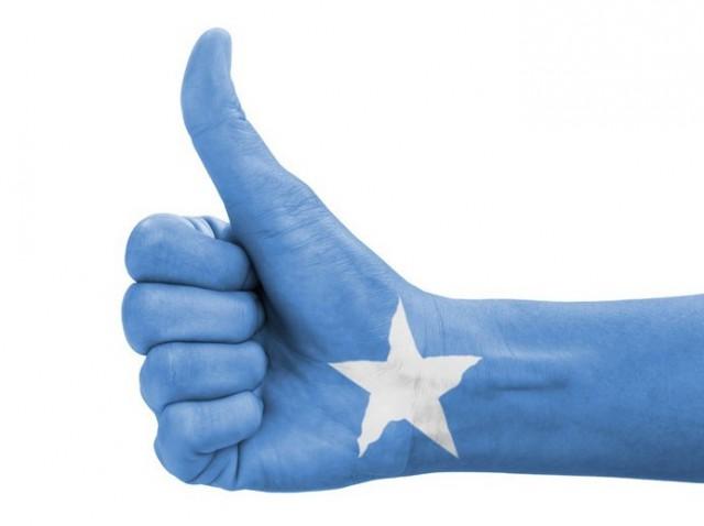 Steun voor Somalische migranten of vluchtelingen.