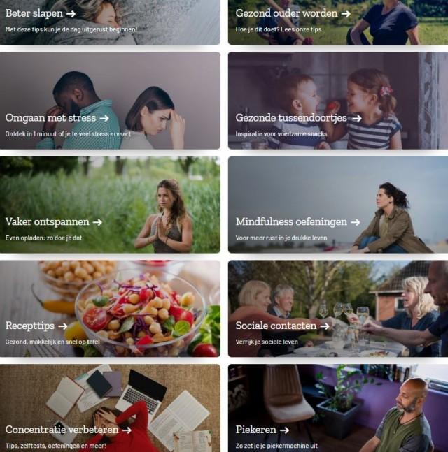 Samengezond.nl geeft tips over verschillende themas